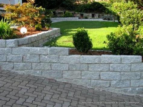 garten kaufen hessen granit mauersteine 15x20x40 cm quot grau mittelkorn