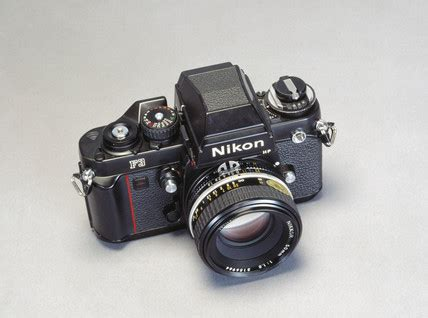 nikon f3 hp and f1 8 50mm lens c 1980 at science and society picture library