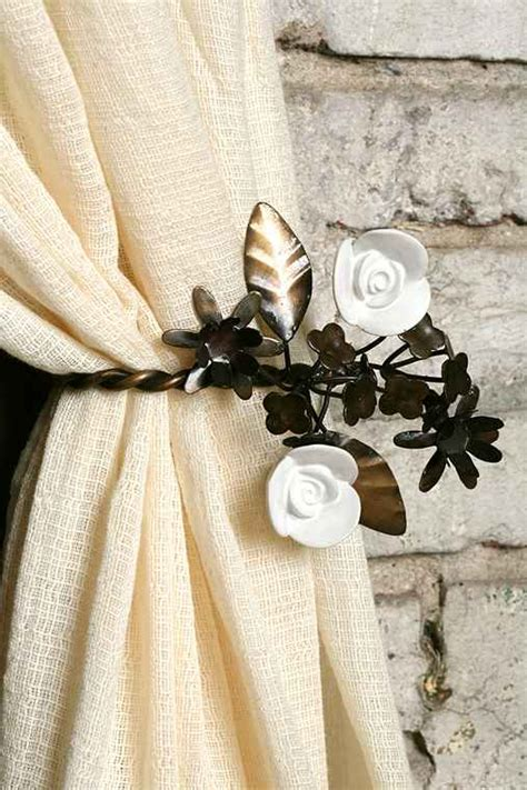curtain tie backs urban outfitters garden party curtain tie back urban outfitters