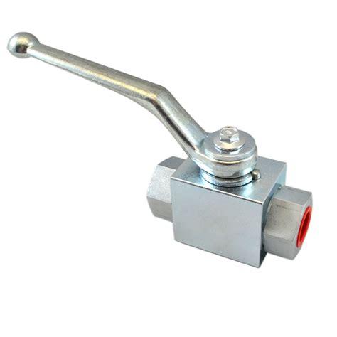 high pressure 2 way valves bsp