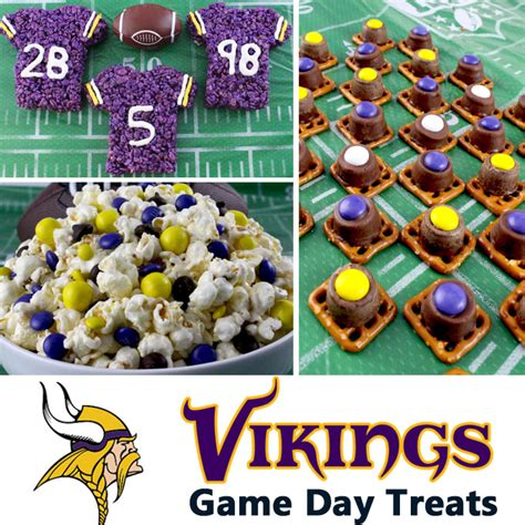 minnesota vikings game day treats  sisters crafting