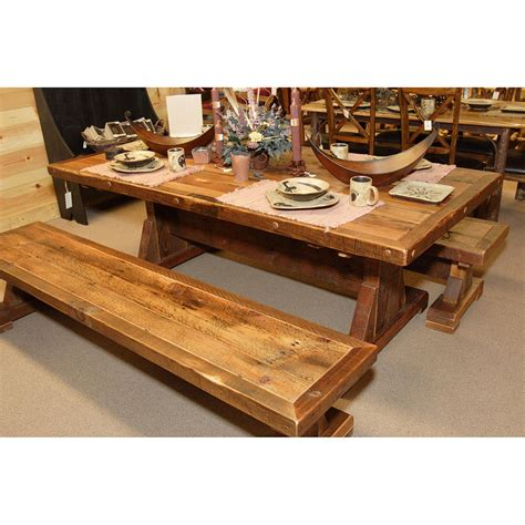 trestle table and bench stony brooke trestle table and bench top notch online