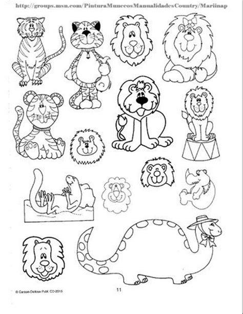 imagenes animales salvajes para colorear plantillas con dibujos de animales salvajes para colorear