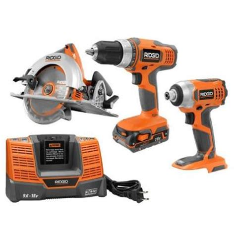 ridgid hyper lithium ion combo kit 3 tool r96863n the