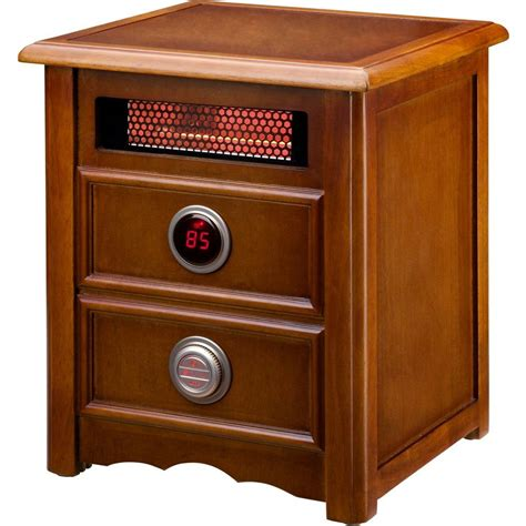 infrared heat l home depot dr infrared heater nightstand 1500 watt infrared portable