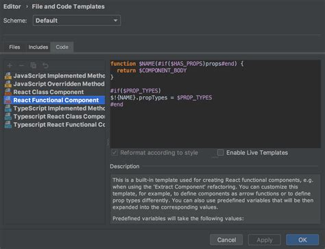 Webstorm Blog Tips Tricks News How To S React Component Template