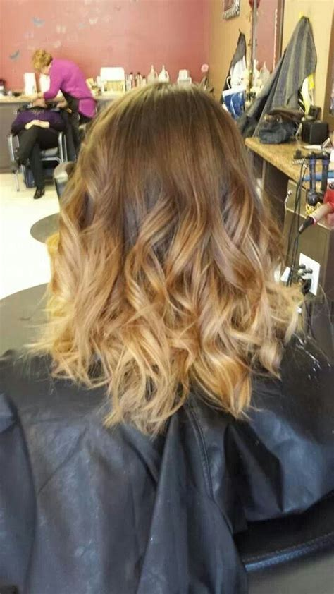 how to do medium length ombre hair ombre hair medium length hair pinterest