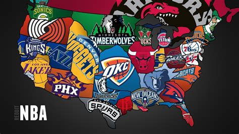 nba map nba team logos wallpapers 2016 wallpaper cave
