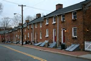Rowhouses File Oella Md Row Houses Jpg Wikimedia Commons