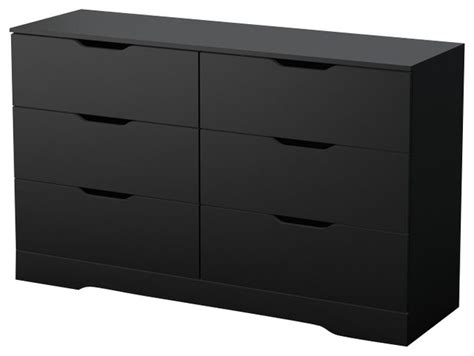 South Shore Dresser Black by South Shore Dresser In In Black Modern