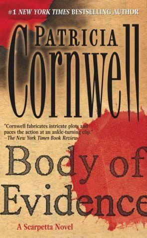 evidence of books of evidence scarpetta 2 by cornwell