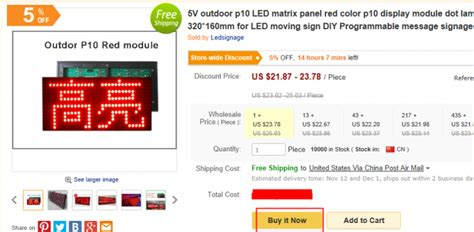 Led Running Text Outdoor 32 16 pixel led module p10 dip outdoor single 320