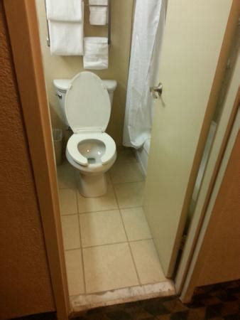 owner of dixie toilet small bathroom step ot shower into toilet picture of