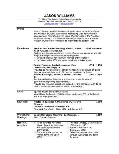 Modelo Curriculum Vitae En Inglés Modelos De Curriculum Vitae En Ingles