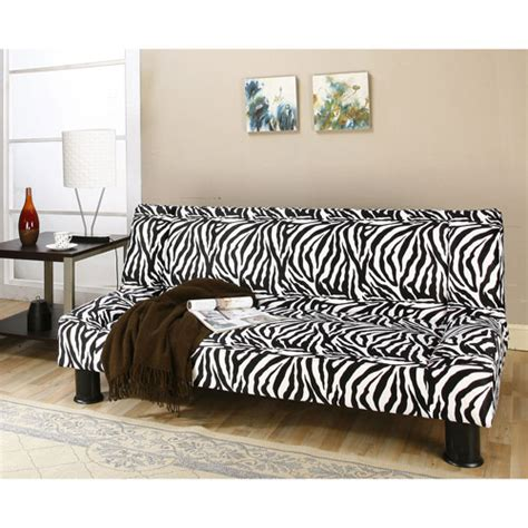 Zebra Print Futon by Primo Maple Convertible Futon Sofa Bed Zebra Safari