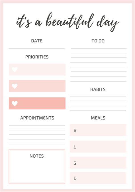 daily planner template tumblr original study tips studyblr euphoricstudying daily