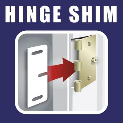 Door Hinge Shims by Hinge Shim Hingeshim