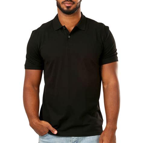 Polo Shirt Black emerson s polo shirt black big w