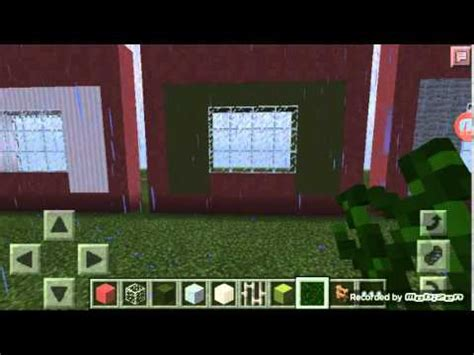 curtains in minecraft how to make curtains in minecraft pe youtube