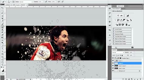 pattern photoshop football photoshop tutorial simple football signature youtube