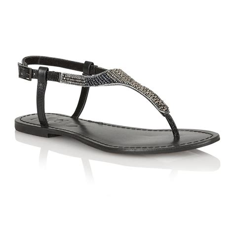 black sandals buy ravel huntsville flat sandals in black