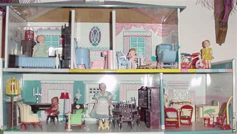 vintage metal doll house vintage metal dollhouses on vintage dolls