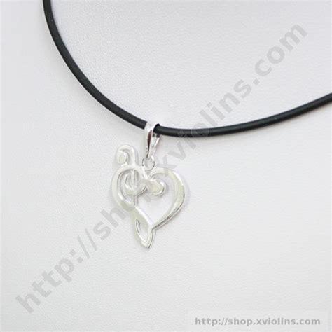 cadena de plata se hace negra colgante musical clave de sol y clave de fa plata ley