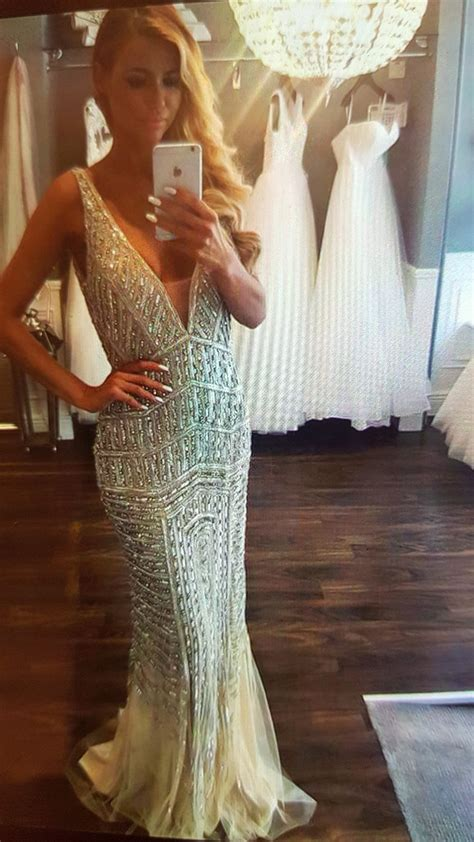 gatsby prom 2015 male outfit luxury bead robe rhinestone long glitter mermaid gowns
