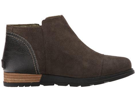 sorel plus major low side zip leather boots 5 56 4 36 3 8 2 0 1 0