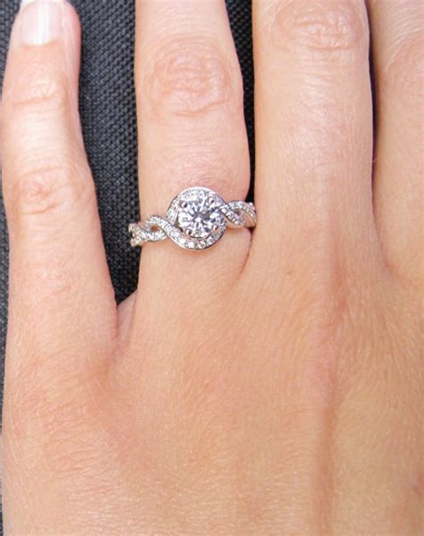 pictures of 1 4 1 ct engagement rings weddingbee