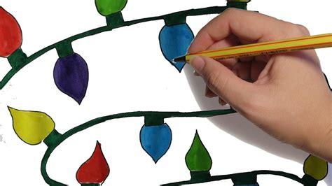 imagenes navideñas religiosas en color como dibujar luces navide 209 as paso a paso facil dibujos de