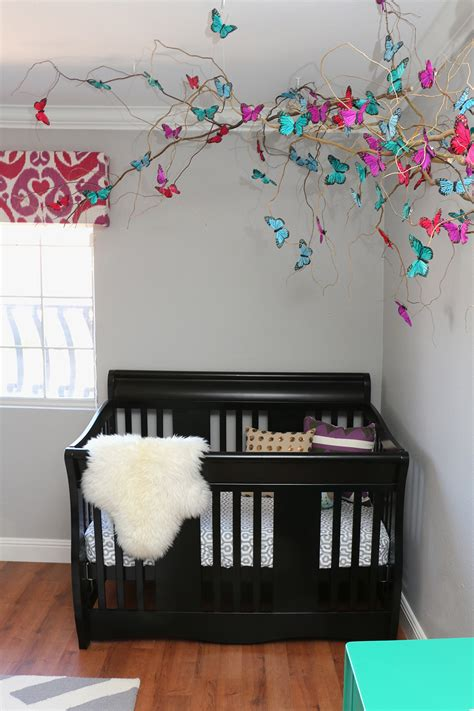 room themes butterfly nursery design by numbers