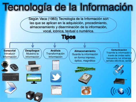aplicacion de la tecnologia y la informacion la tecnologia de la informaci 243 n i