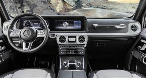 mercedes c 2019 interior mercedes reveals a cushier 2019 g class interior