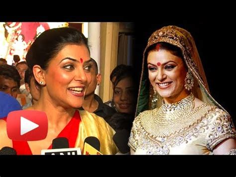 sushmita sen marriage sushmita sen reacts to her marriage youtube
