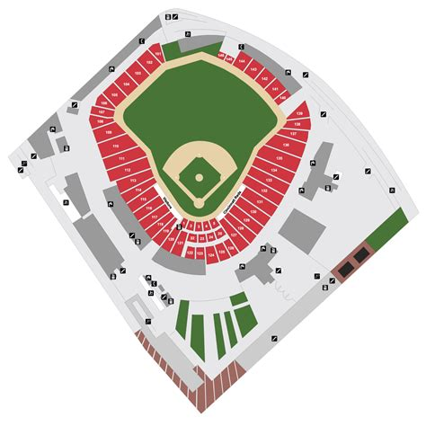 great american ballpark map great american park map cincinnati reds