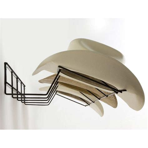 Home Decorative Accents by Cowboy Hat Rack Coated Wire Black Dcg Stores