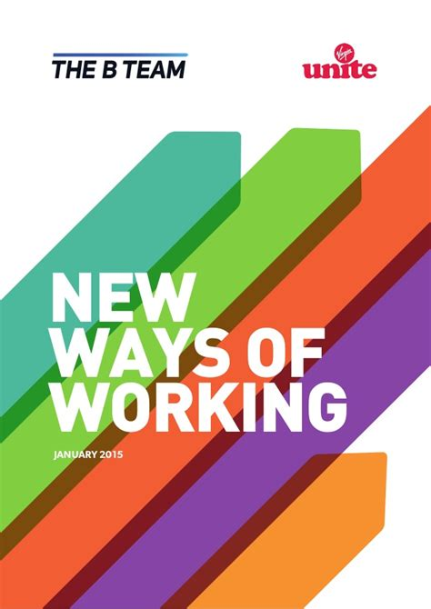 the ways of the new ways of working report 2015