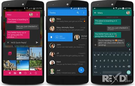 sms app for android apk textra sms pro 3 37 donated apk for android