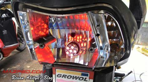 Lu Led Untuk Motor Supra X 125 solusi pasang led stop l supra x 125 mazpedia