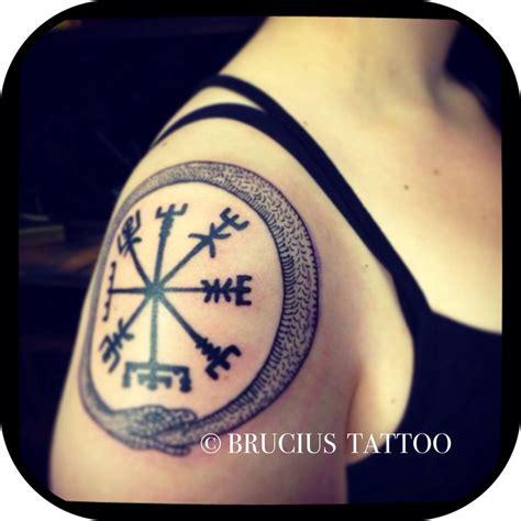 vegvisir tattoo placement brucius tattoo sf old ouroboros j 246 rmungandr rune
