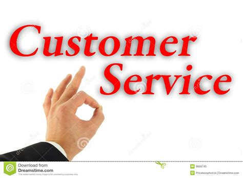 excellent customer service concept royalty free stock photo image 9669745