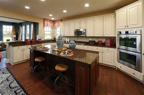Interior Of Kitchen Cabinets A Gorgeous Beazer Homes Kitchen In The Ashford Model