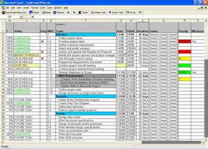 project manager excel template excel planning template for project management plannings