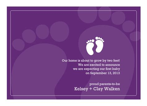 Pregnancy Announcement Cards Free Template free printable pregnancy announcement templates