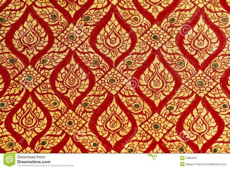 thai pattern history thai pattern stock image image of kanok gold texture