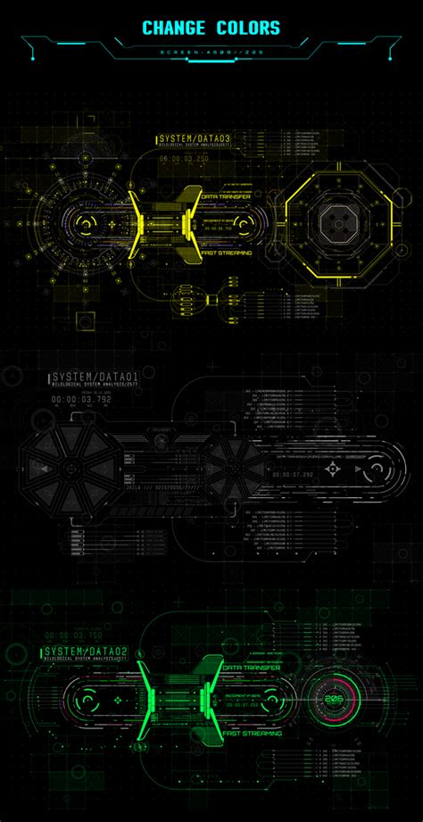 after effects template free phantom hud infographic hud ui infographics pack 800 download free after