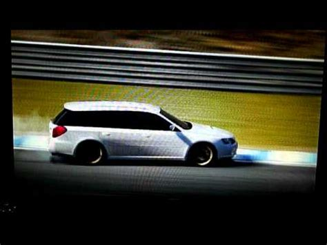 subaru legacy drift gt5 subaru legacy wagon drift youtube