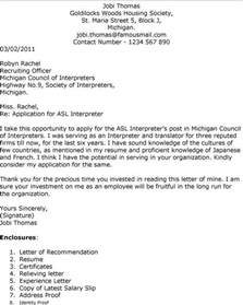 Interpreter Cover Letter Cover Letter For A Reading Teacher Position