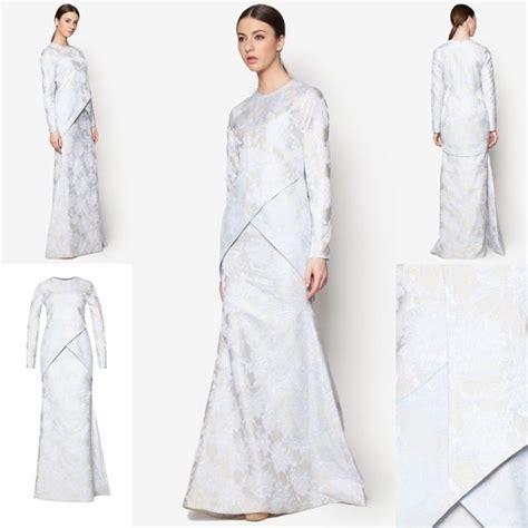 Batik Mimosa fesyen trend terkini bianco mimosa axiom baju kurung moden